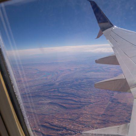 dans l avion