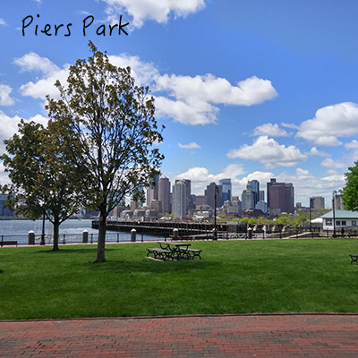 piers park east boston