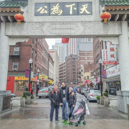 Visiter Boston- la porte de chinatown