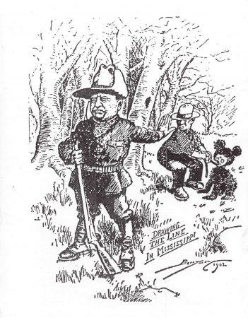 Caricature Berryman Teddy Bear