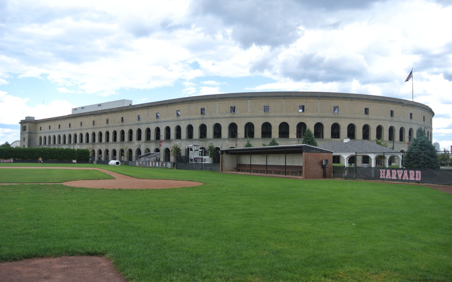 Harvard Stadium 2016