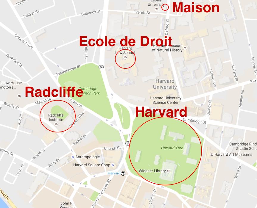Map Harvard