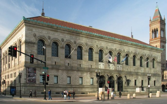 Boston Public Library McKim