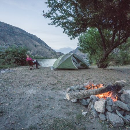 camping sauvage lac hells canyon road-trip-oregon-15