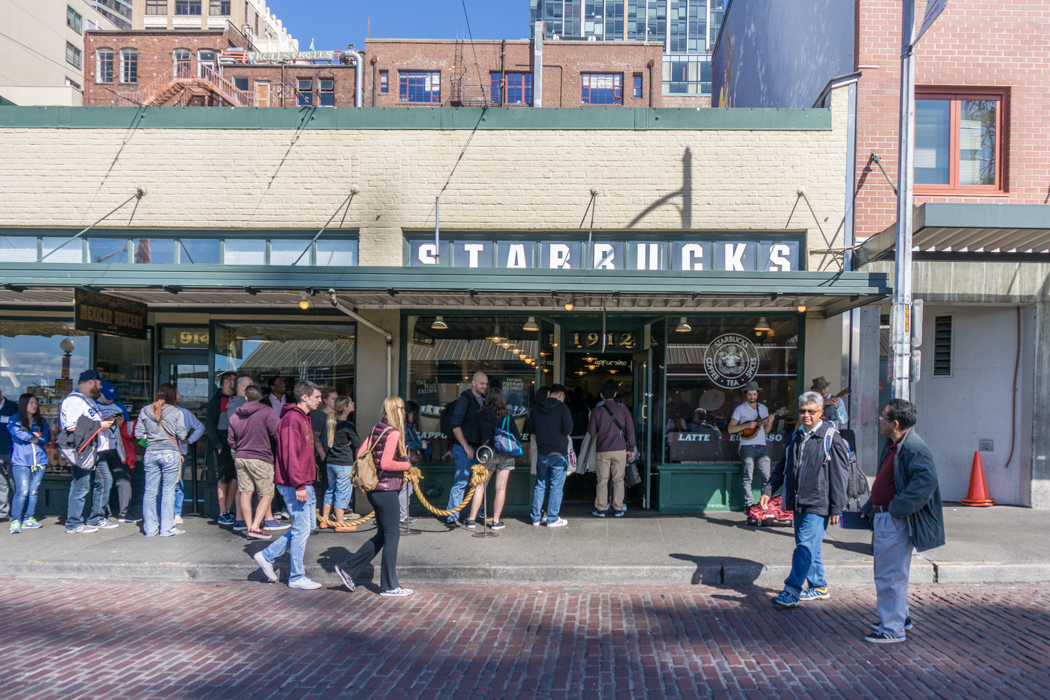 Le premier starbucks a seattle 2
