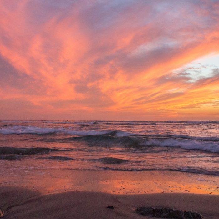 San Diego Californie coucher de soleil