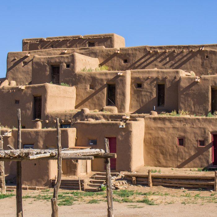 Taos Pueblo Nouveau Mexique