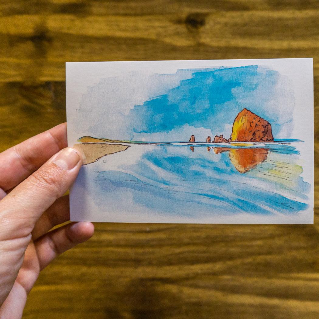 oregon-cartes-postales-cote pacifique