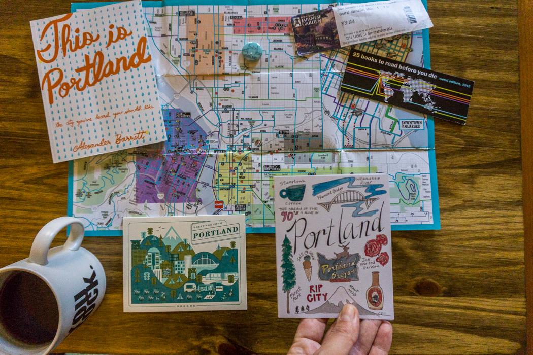 Oregon cartes postales Portland