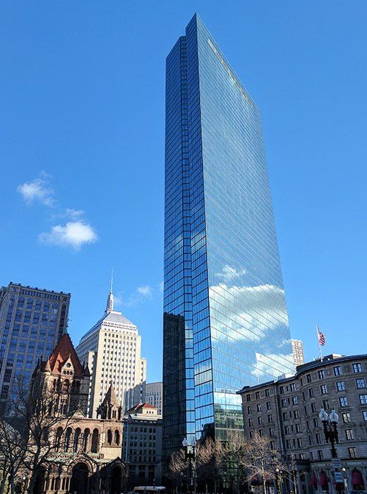 Place Copley Boston