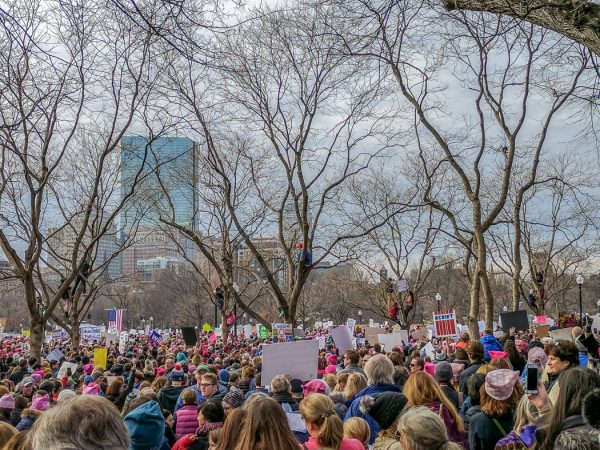 Womens March Boston