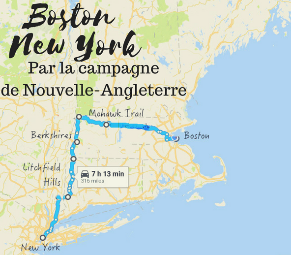 Un Road Trip Campagne De Nouvelle Angleterre New York
