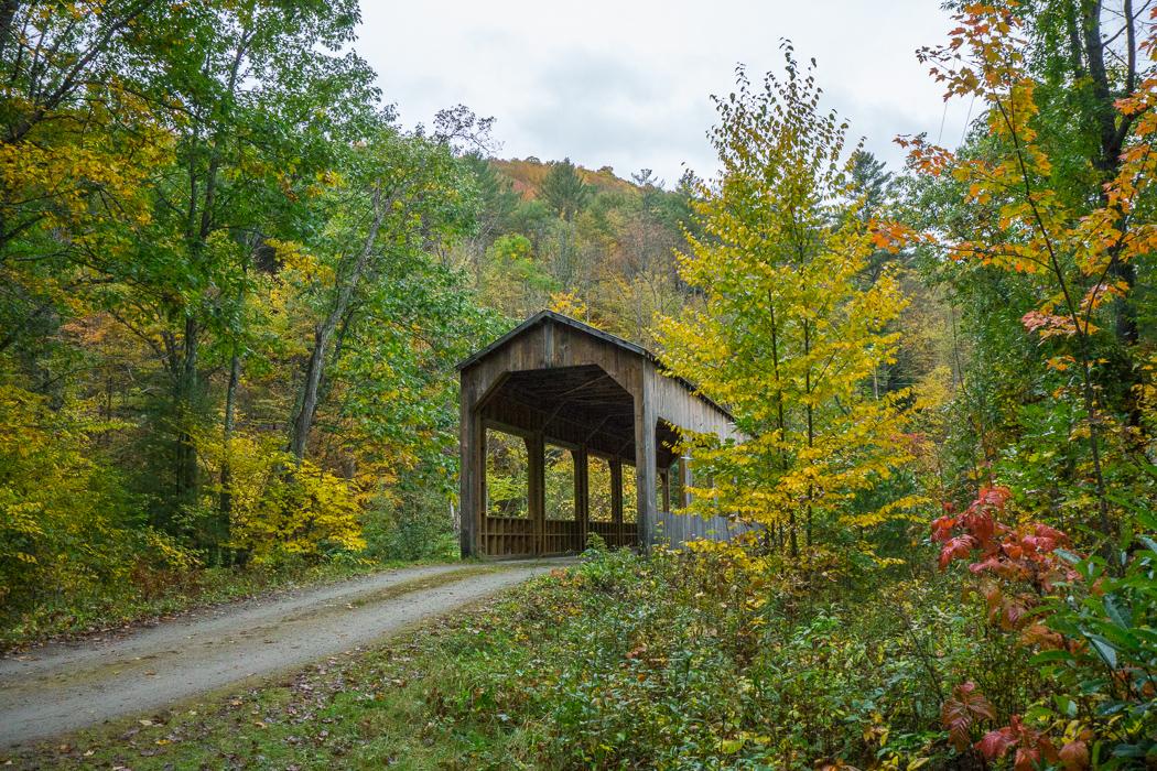Pont couvert Vermont-1
