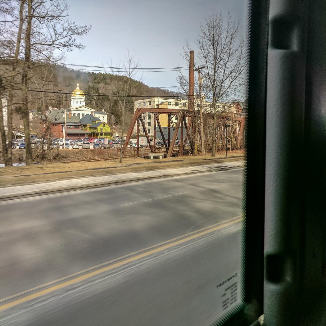 Burlington Vermont bus Boston