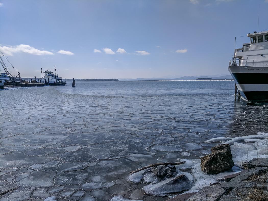 Burlington Vermont lac Champlain