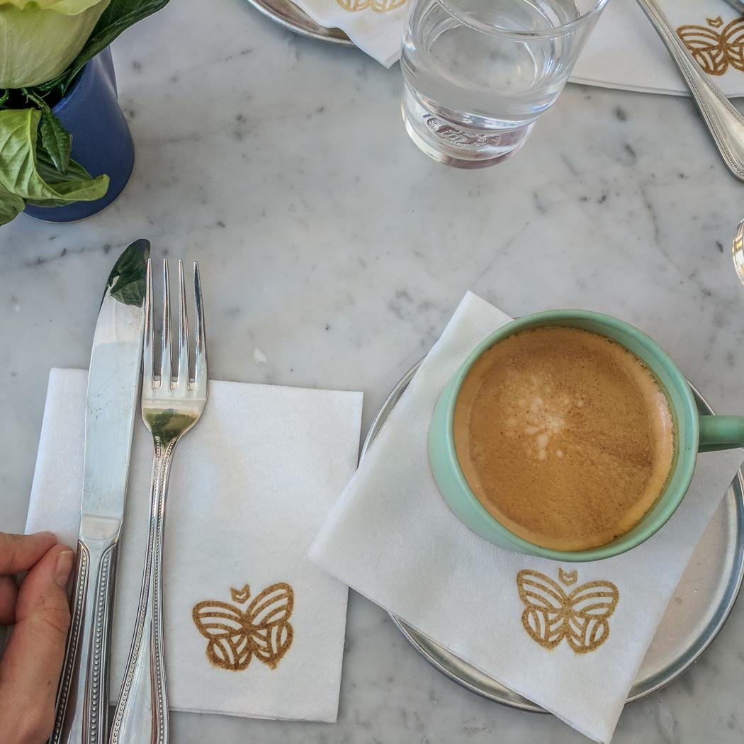 Burlington Vermont petit café