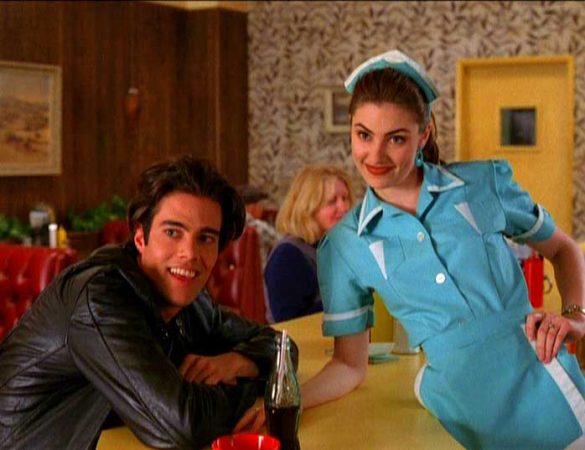 twin peaks diner serveuse