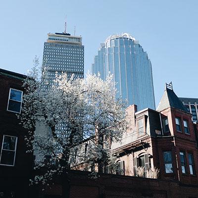 Boston au printemps