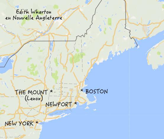 Edith Wharton en Nouvelle Angleterre - Le blog de Mathilde
