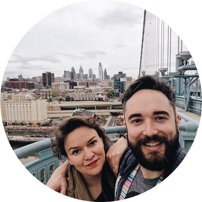 Mathilde et Manu Philadelphie
