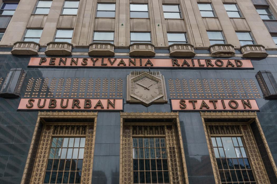Philadelphie Gare Art Deco