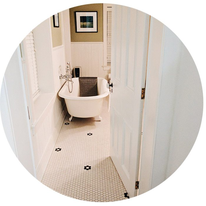 Salle de bains Airbnb Philadelphie