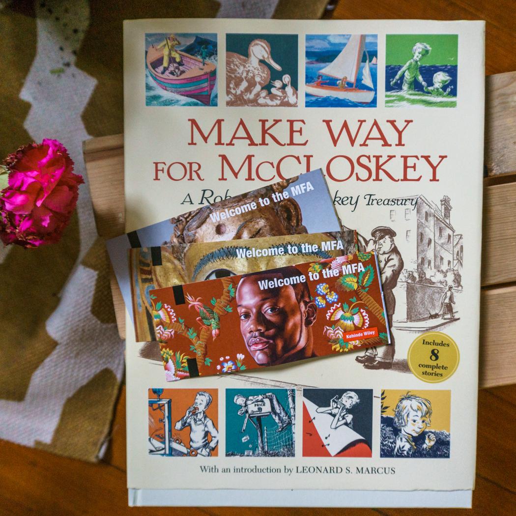Boston livres MFA Robert McCloskey