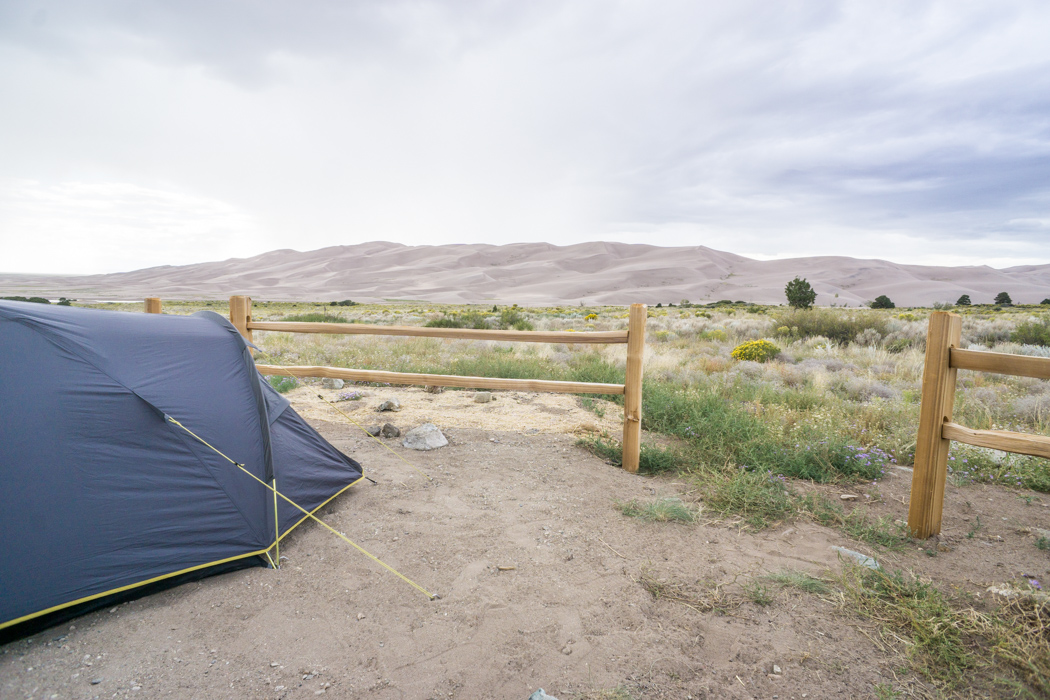 Camping Great Sand Dunes Colorado-1