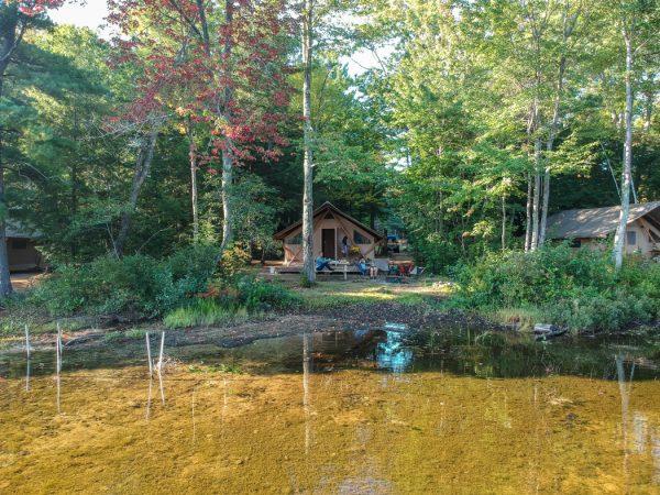 Camping New Hamphshire Huttopia le blog de Mathilde