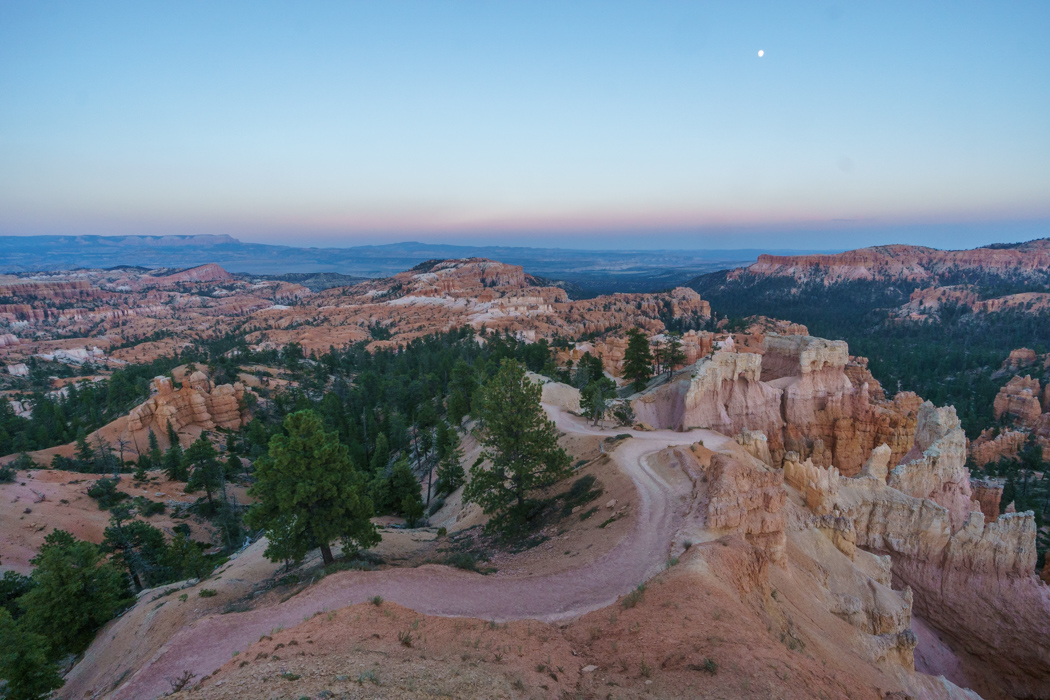 Coucher de soleil a Bryce Canyon Utah-1