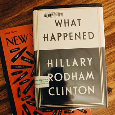 Livre What Happened Hillary Clinton