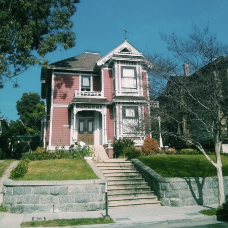 La maison de Charmed - Instagram @mathildepit