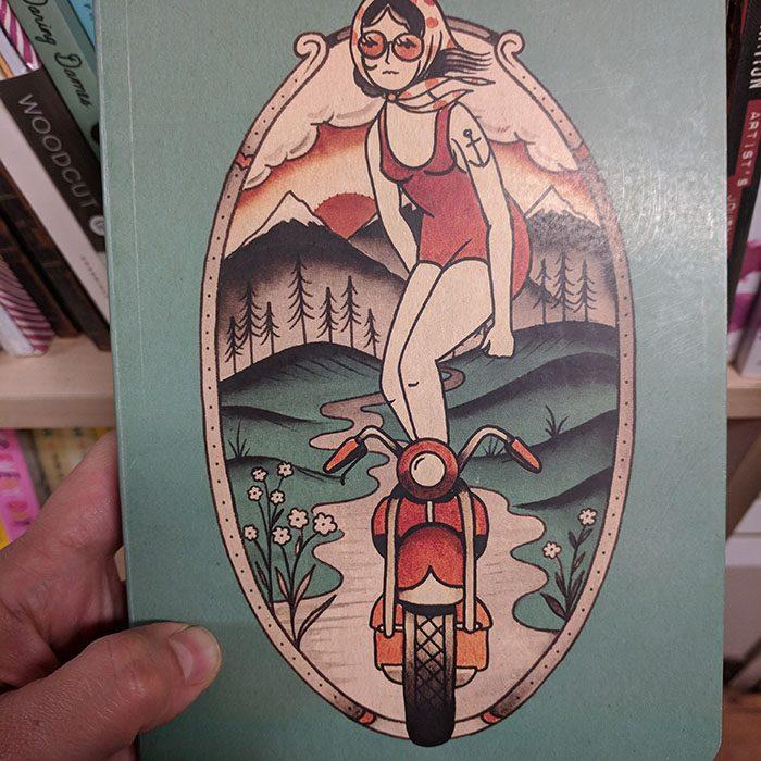 carnet trident daring dames a Kyler Martz Journal