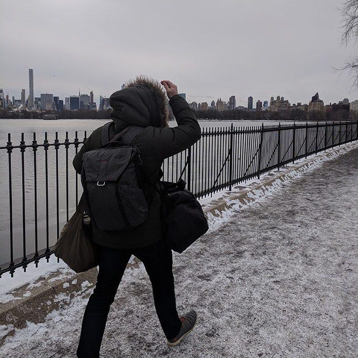 Promenade au frais dans Central Park