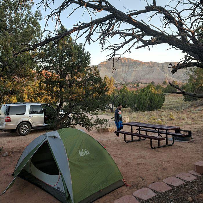 Kodachrome Camping
