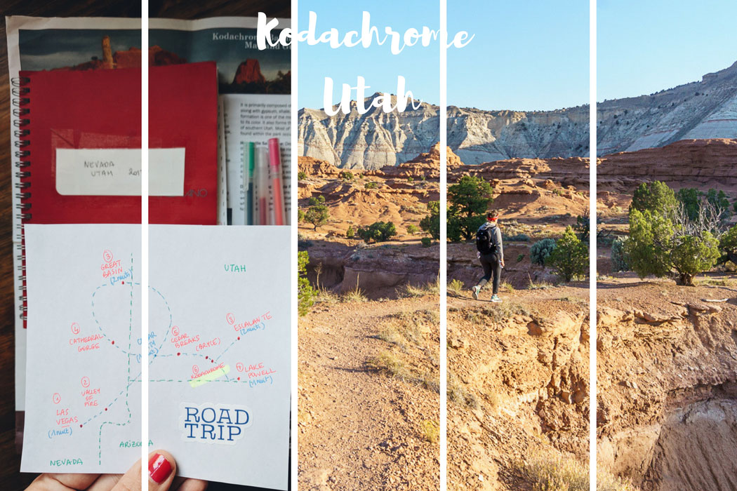 Kodachrome Road trip Utah
