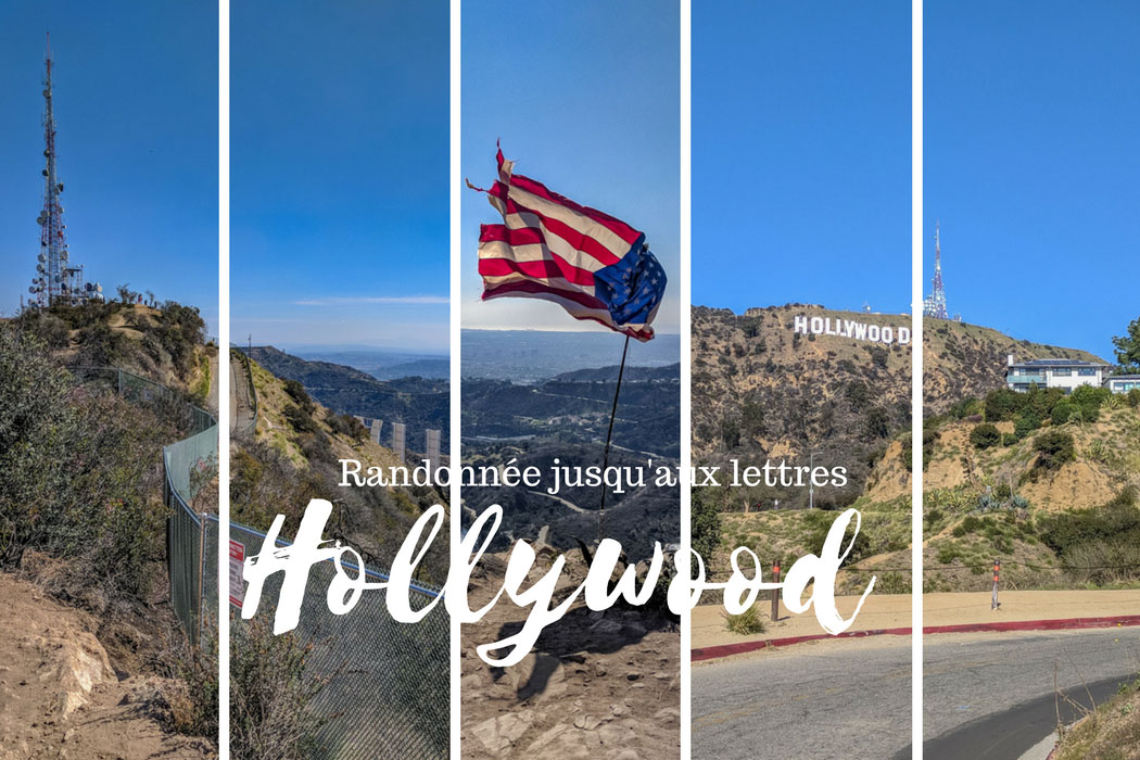 Hollywood sign - les lettres Hollywood Los Angeles